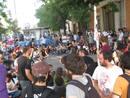 Ir a Fotogaleria El 15-M protesta en el Congreso contra la reforma de la negociación colectiva