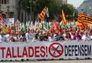 Ir a Fotogaleria Masiva manifestación en Barcelona contra los recortes de Mas