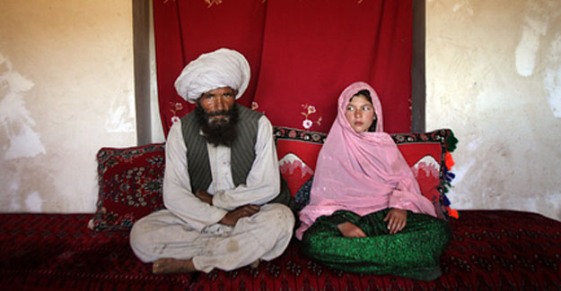 La niña afgana prometida con un hombre, premio Unicef