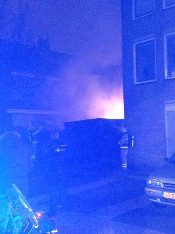 Schuur Bloemstraat verwoest na brand