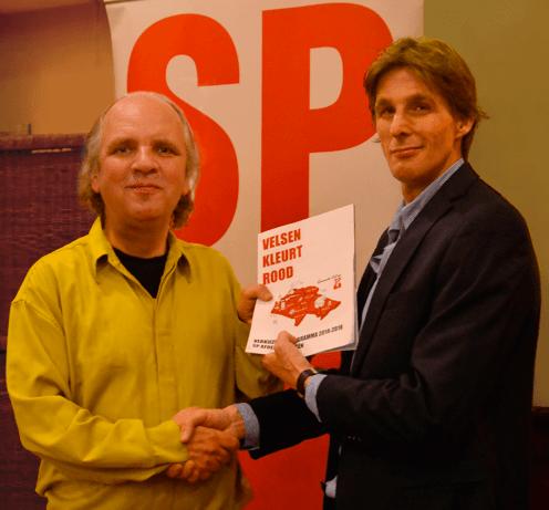 Ook SP presenteert verkiezingsprogramma
