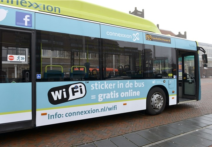 Gratis WiFi in Connexxionbussen IJmond