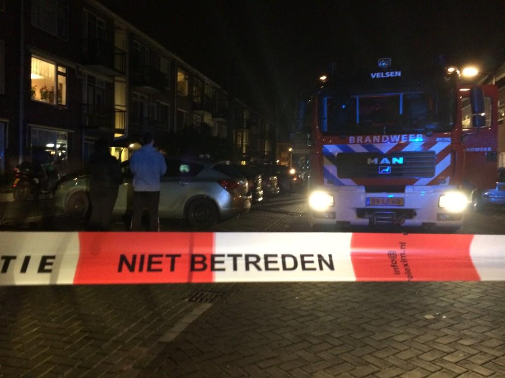 Brand in flat Vechtstraat IJmuiden
