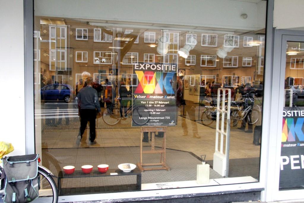 FOTO'S: Opening kunsttentoonstelling Vögele-pand