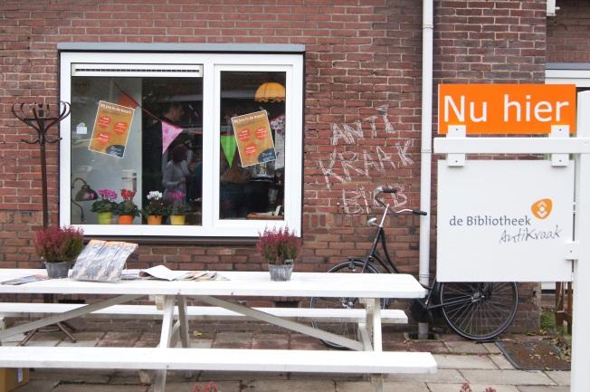 AntiKraakBieb Velsen-Noord ook open op zaterdag