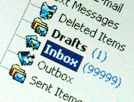 Volle mailbox dankzij bibliotheek