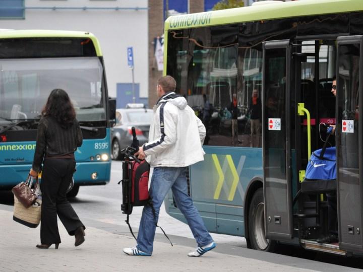 Velsense bussen Connexxion rijden normaal tijdens NSS
