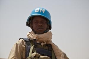 Binnenkort blauwhelm-troepen in Velsen? Foto: Flickr.com/by Mission de l'ONU au Mali - UN Mission in Mali