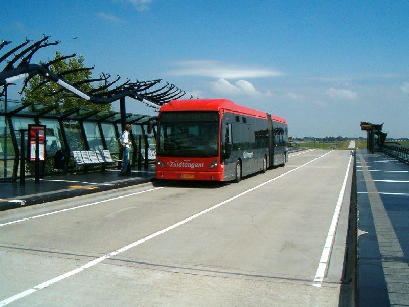 Zuidtangent / R-Net 300 mogelijk doorgetrokken naar IJmuiden