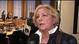 Interviews na coalitievergadering 7 april