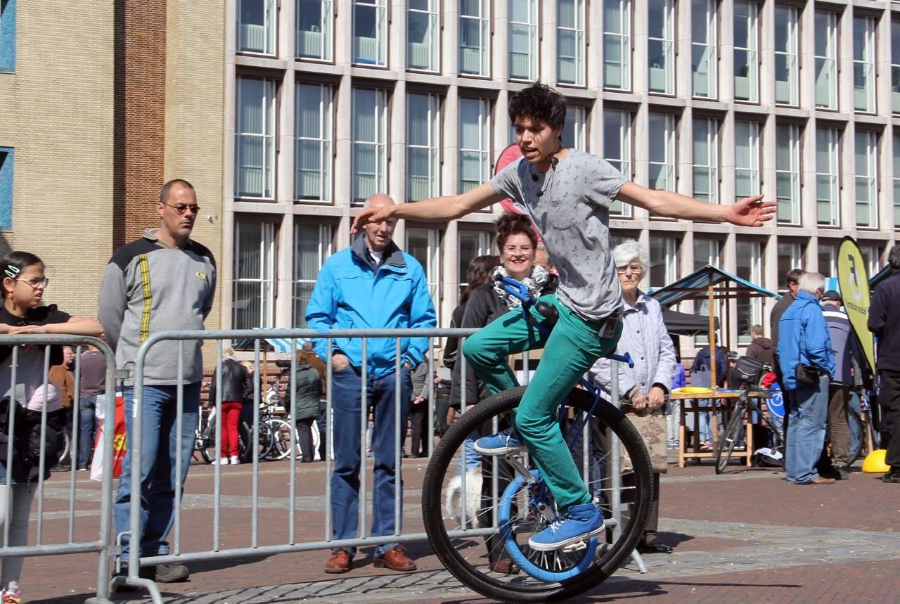 Velsen nét niet de beste fietsstad van Nederland