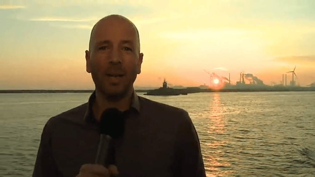 [video update] Mark Moreels begroet cruiseschip Prinsendam in IJmuiden