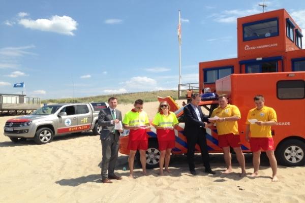 Reddingsbrigade Nederland en Poolse ambassade starten voorlichtingscampagne