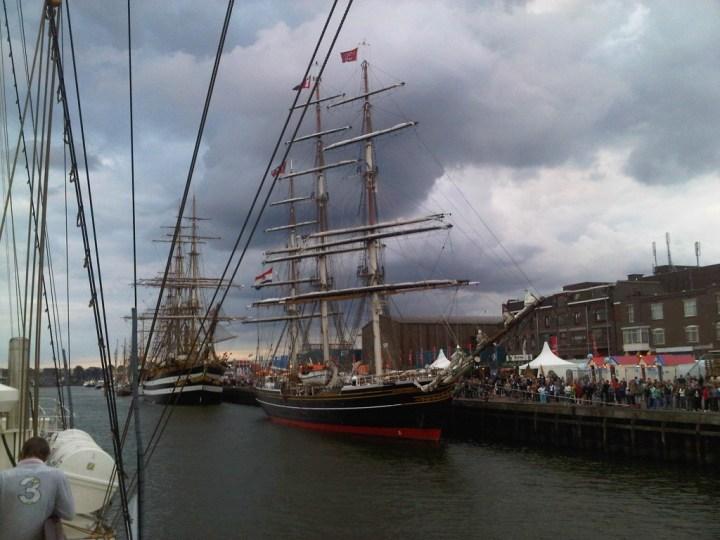 Startschot Sail Amsterdam 2015