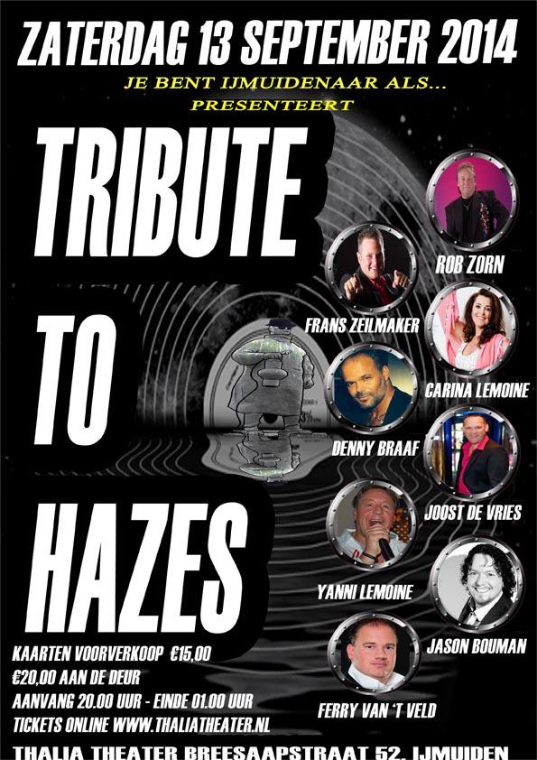 Win kaarten voor Hazes-tribute
