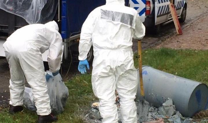 Geen gevaarlijke stoffen in dumpvaten