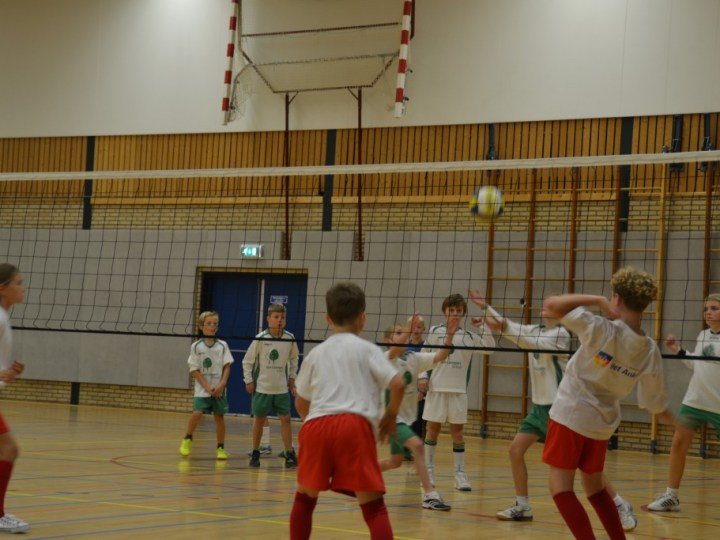 De Triangel wint volleybaltoernooi