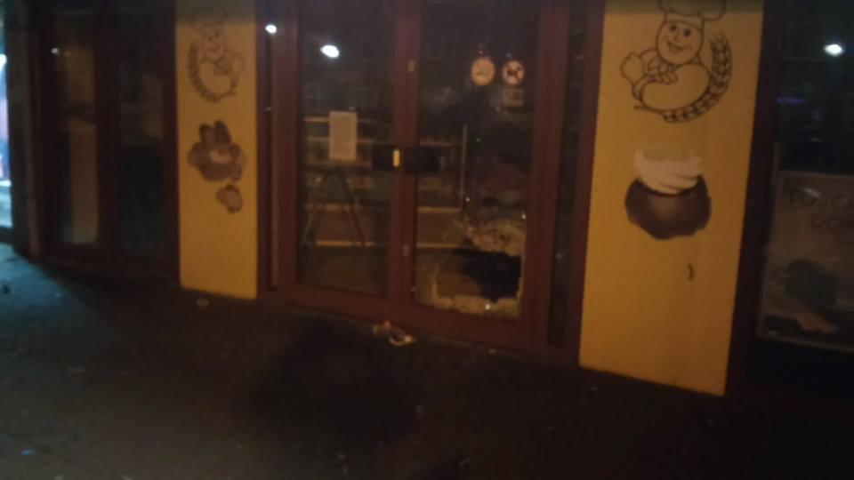 Veel vernielingen in centrum IJmuiden