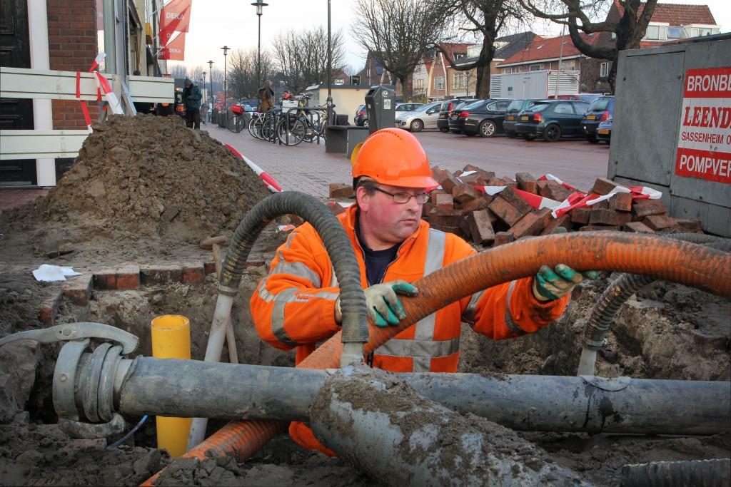 Gasnet Velsen-Noord gerepareerd