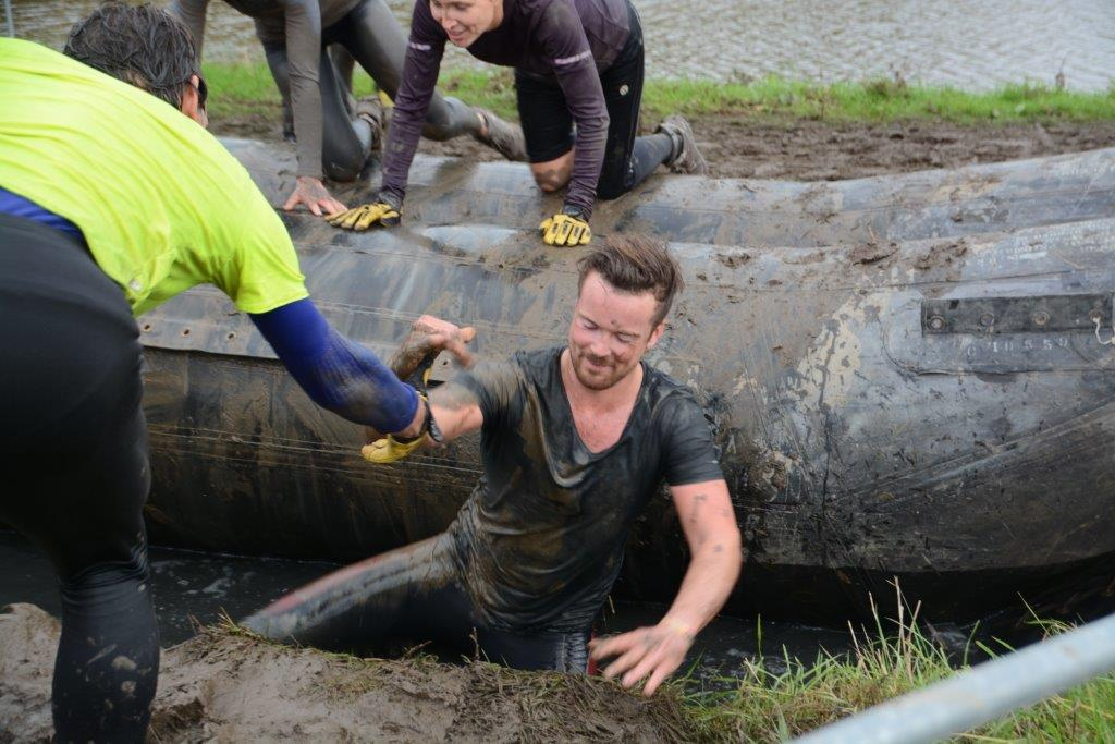 In beeld: Viking Obstacle Run