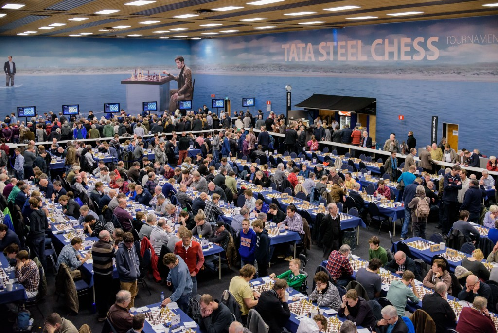 Inschrijving Tata Steel Chess Tournament