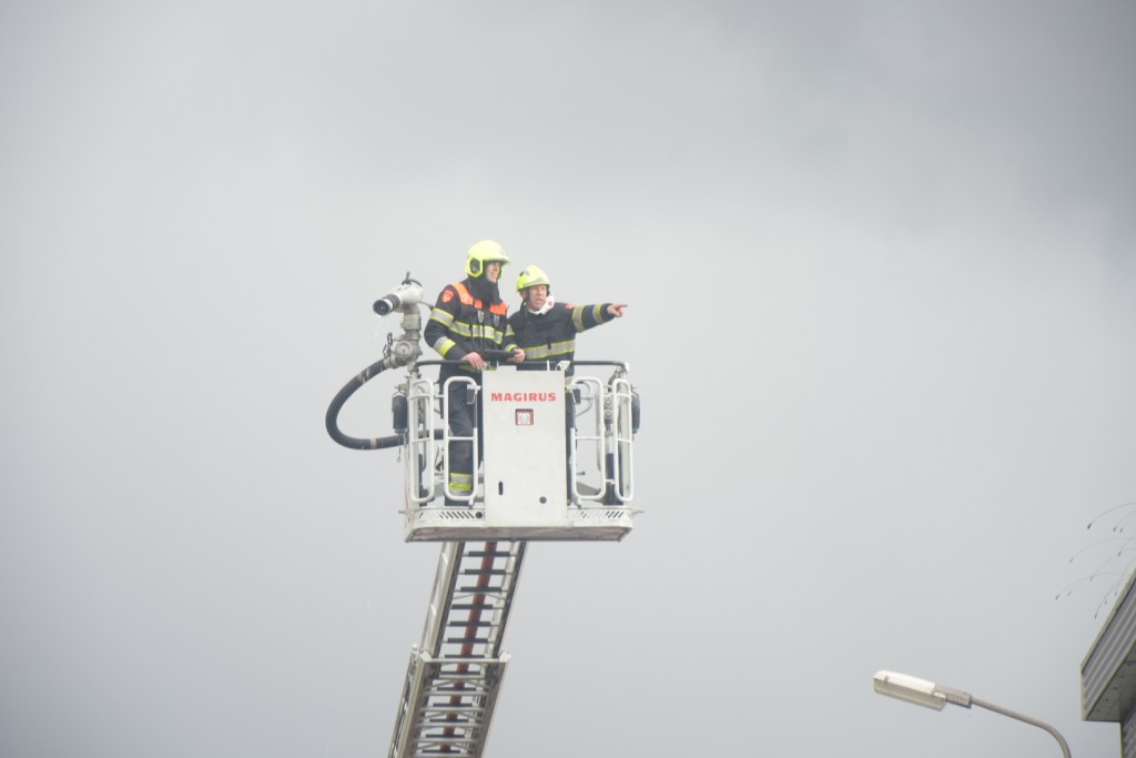 Brand havengebied IJmuiden