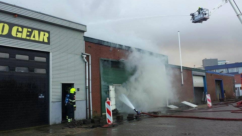 Brand havengebied onder controle