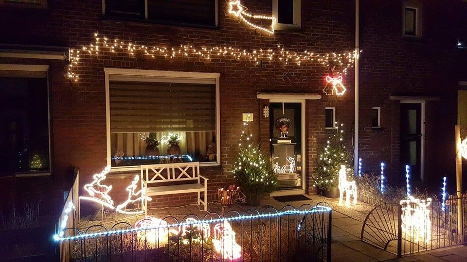 Is uw huis het mooiste kersthuis?