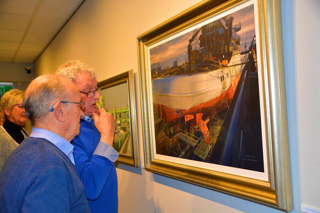 Tentoonstelling 'Echt of Kunst' Zee en havenmuseum