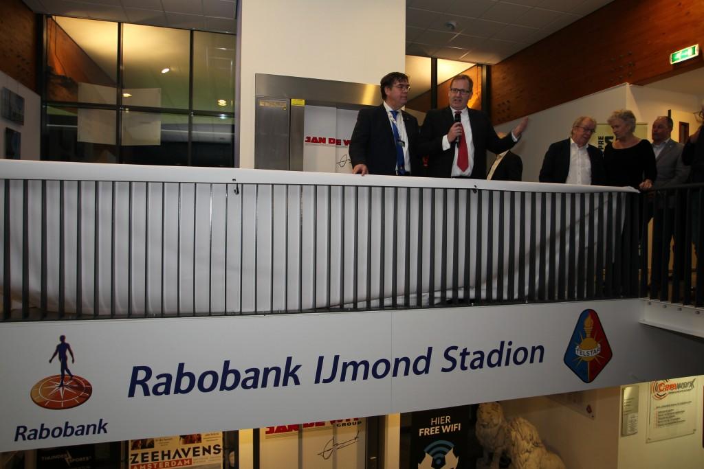 Rabobank IJmond nieuwe naamgever Telstar-stadion