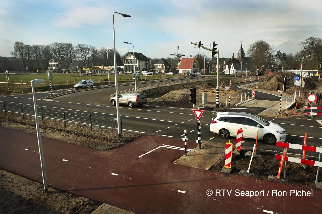 Broekbergenlaan aansluiting HOV traject