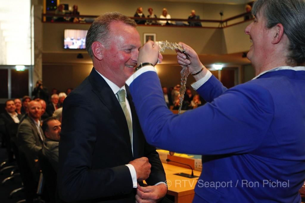 Frank Dales burgemeester van Velsen