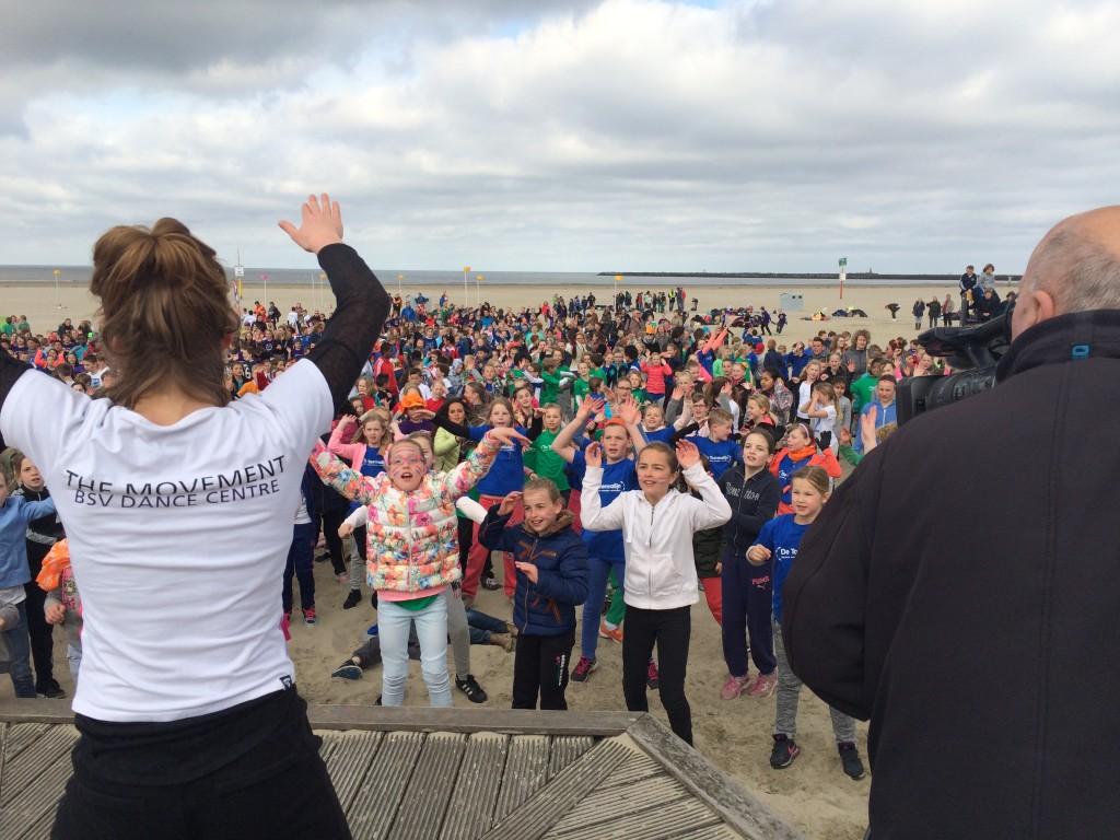 1150 kids bij Koningsspelen aan zee