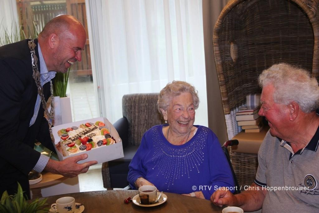 Mevrouw Honderdors, 103 jaar