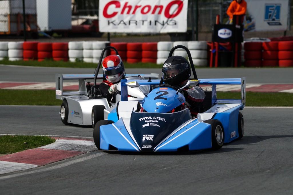 Nova wint groene kartraces Tata Steel