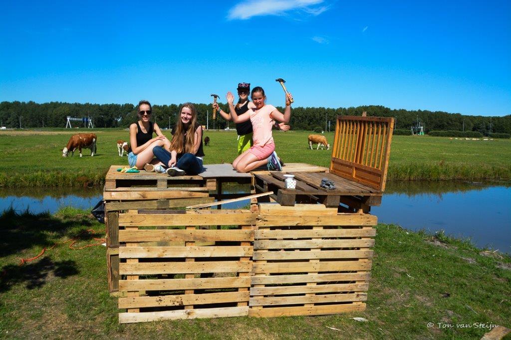 Huttenbouwen als start zomervakantie