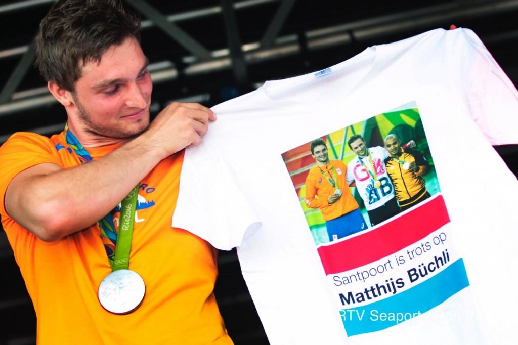 Huldiging Matthijs Büchli