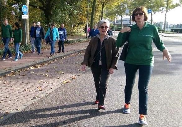 Bijzondere 'marathon' voor etalagebenen