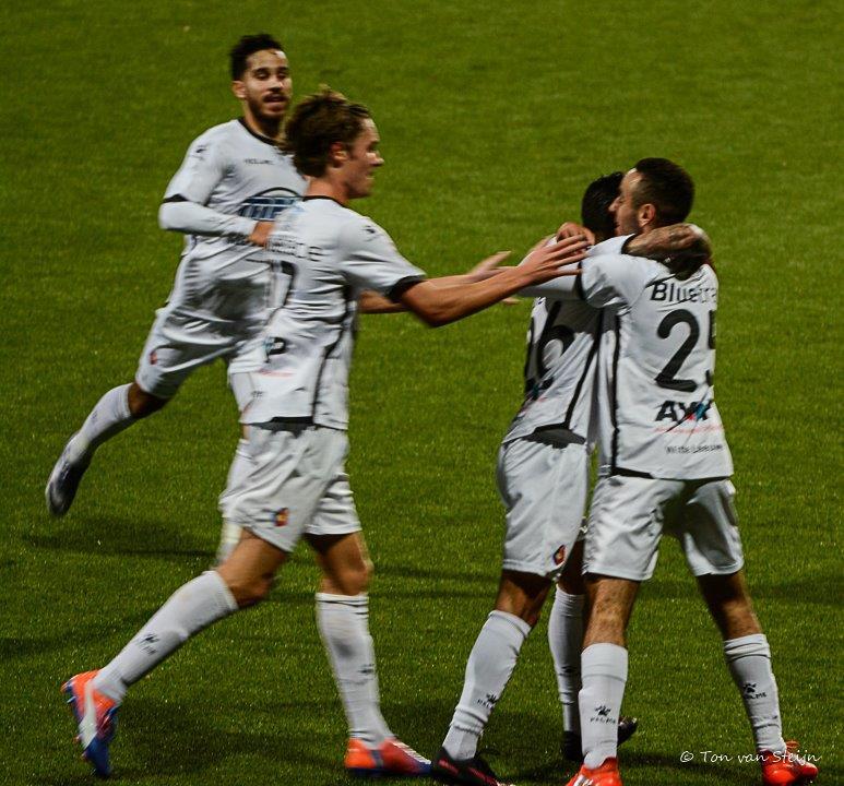 Vijf clubs op 17 punten in Jupiler Leage