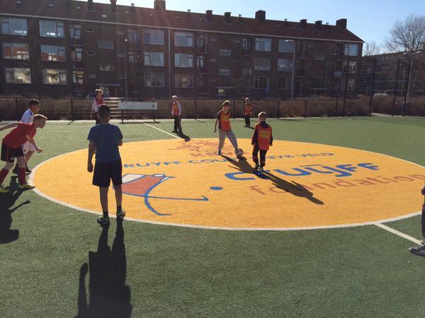 Cruyff Court toernooien in Velsen
