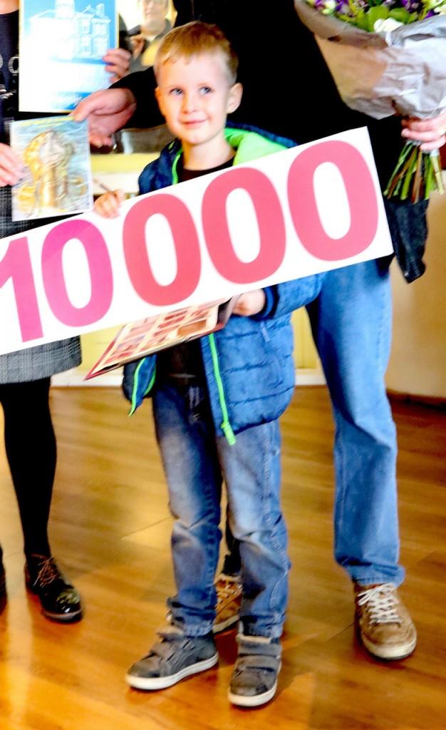 10.000ste bezoeker Zee- en Havenmuseum