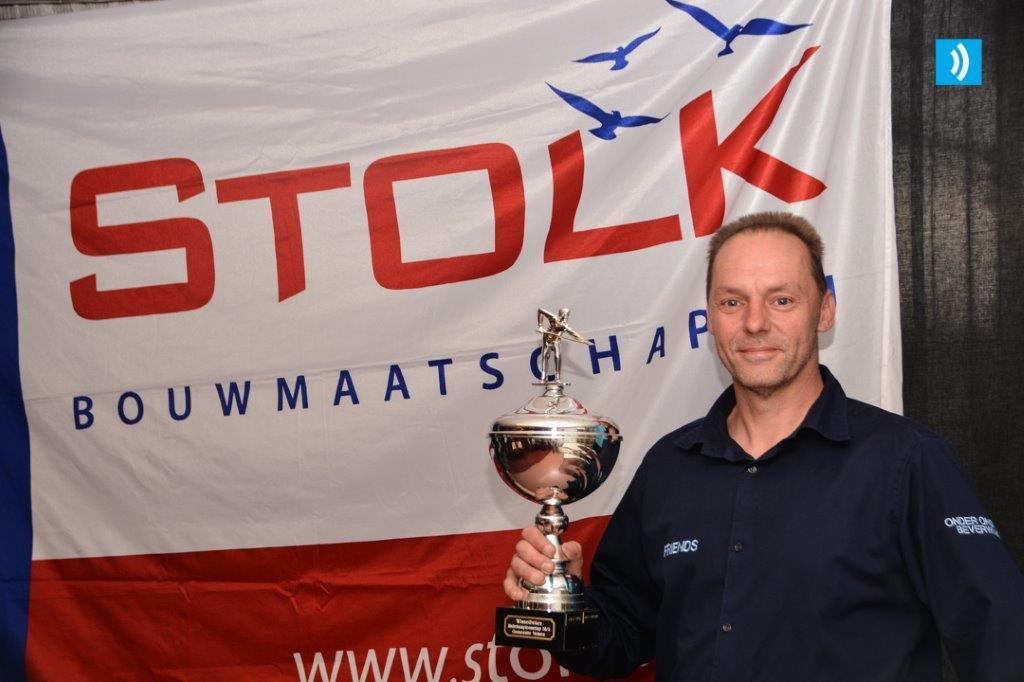 Richard Wolthuizen opnieuw winnaar biljarttoernooi