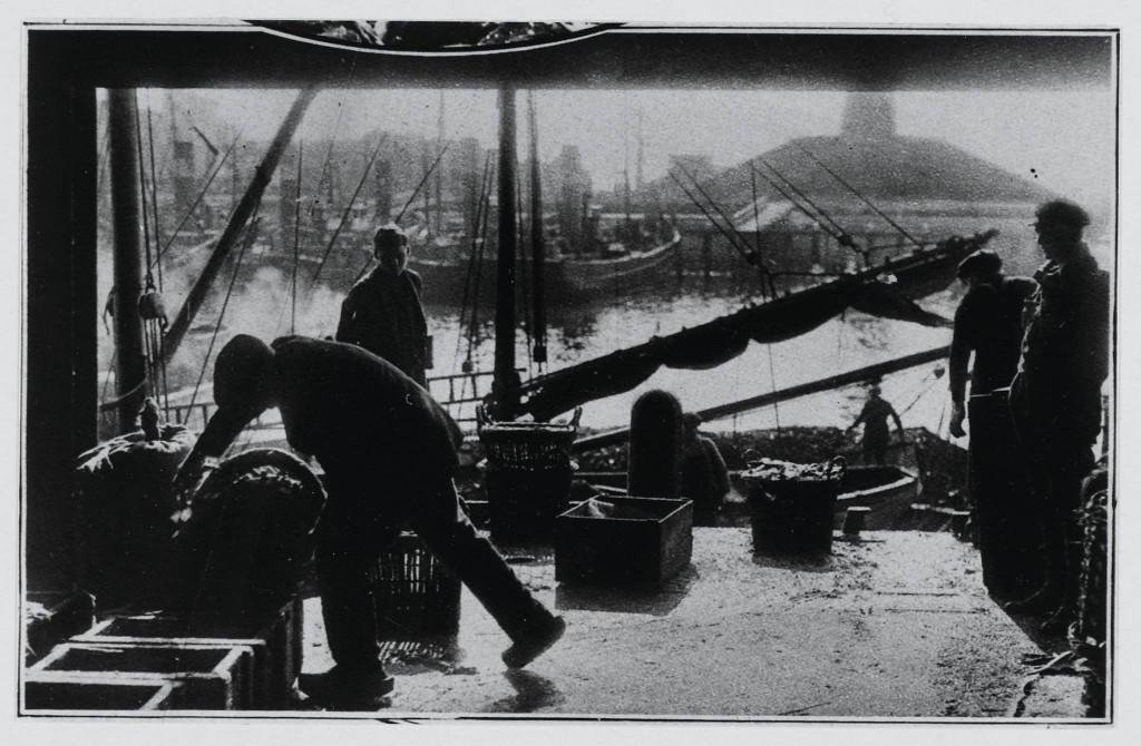 Rondleiding in de vishal door Jan Zwanenburg