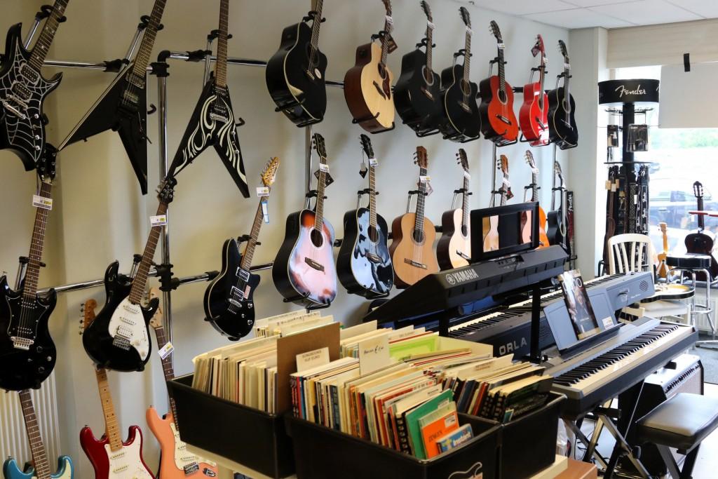 Alphenaar muziekwinkel