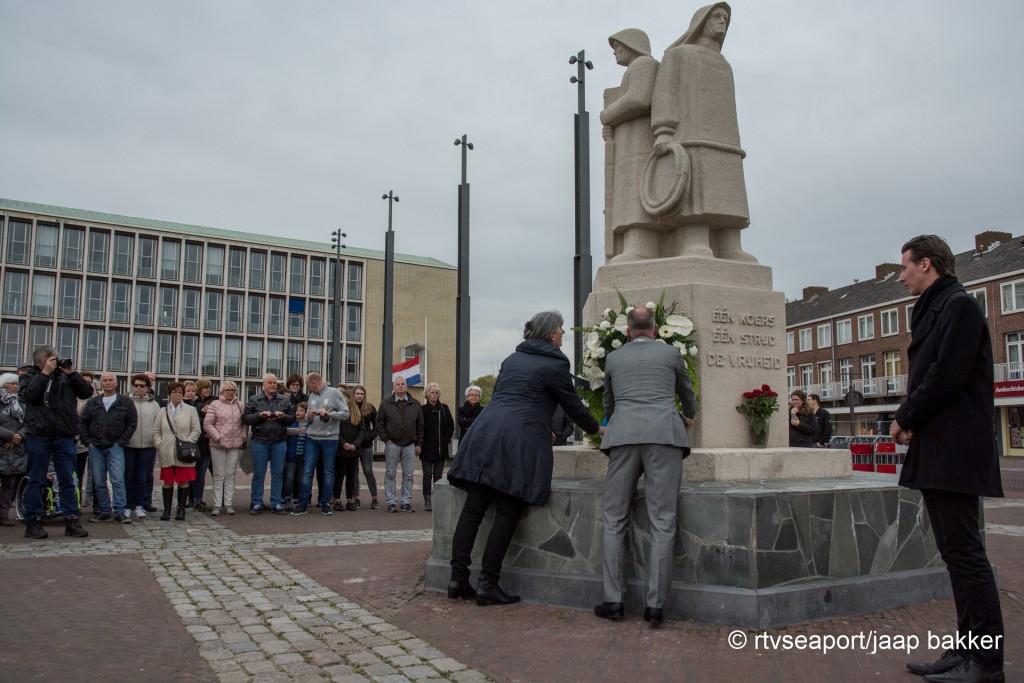 Dodenherdenking 4 mei 2018 gemeente Velsen