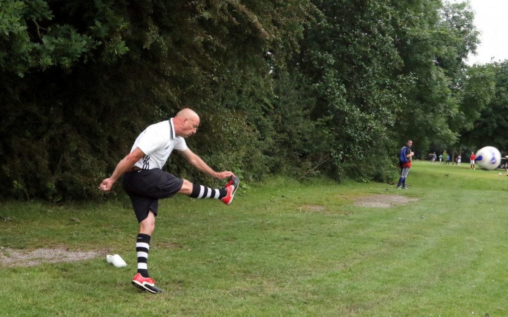 Footgolf in Spaarnwoude