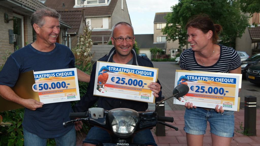 Inwoners Velserbroek winnen 100.000 euro bij Postcode Loterij