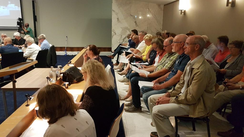 Raad 20 juli samengevat in interviews