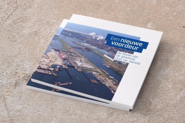 Boek over aanleg nieuwe zeesluis