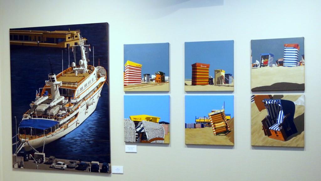 11-Zeegezichten Zee en Havenmuseum schilderijen